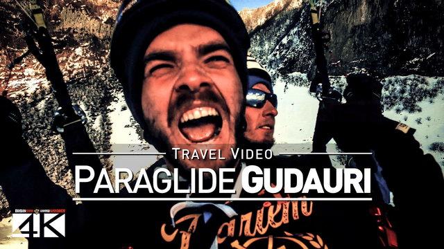 【4K】Footage | Gudauri PARAGLIDE 2019 ..:: Paragliding at Georgia most popular Ski Resort