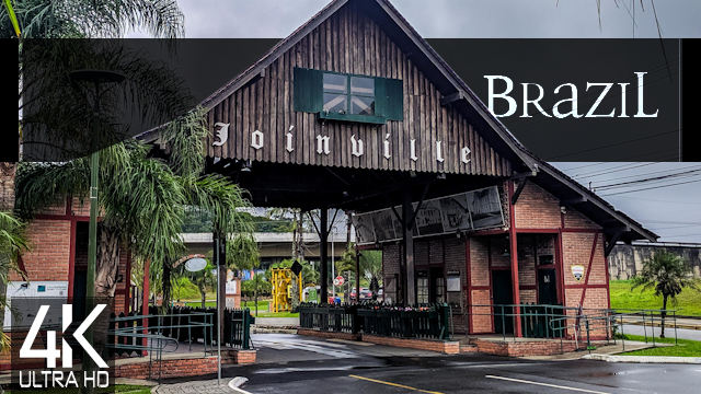 【4K】Germany meets Brazil: Joinville from Above   BRASIL 2021  