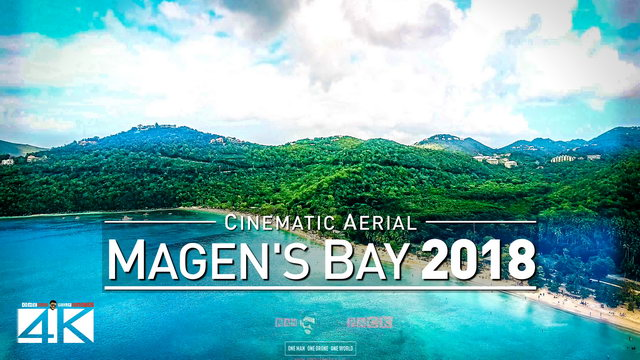 4K Drone Footage MAGENS BAY @ American Virgin Islands (USVI) [DJI Phantom 4]