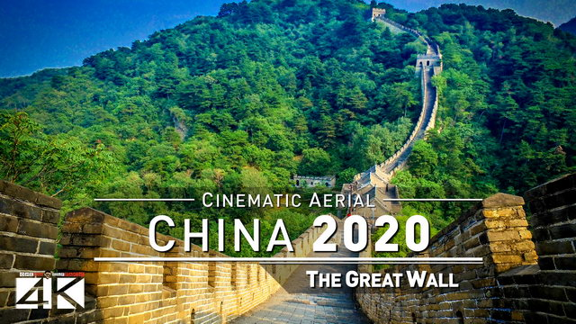 【4K】Drone Footage | GREAT WALL 2019 ..:: Chinas Wonder of the World | 111