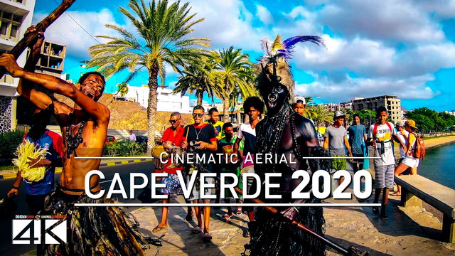 【4K】Drone Footage | CAPE VERDE ..:: Africas Island Paradise 2019 | 112