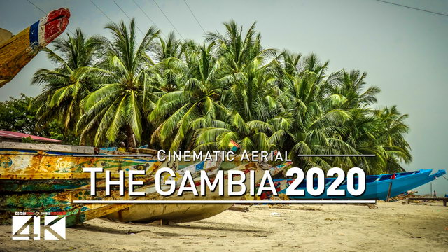 【4K】Drone Footage | THE GAMBIA ..:: Best of West Africa 2019 | 114