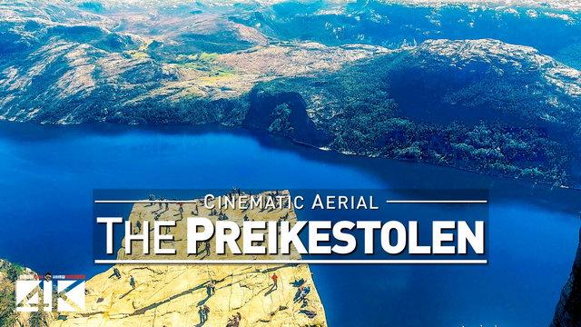 【4K】Drone Footage | PREIKESTOLEN Pulpit Rock ..:: @ Mission Impossible 6 – Fallout Norway 2019