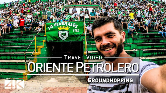 【4K】Groundhopping Footage | ORIENTE PETROLERO x WILSTERMANN 2x0 ..:: Estadio Tahuichi Bolivia 2019