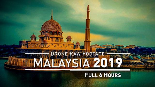 【4K】Drone RAW Footage | MALAYSIA 2019 ..:: Penang :: Langkawi :: Melaka : Ipoh | UltraHD Stock Video