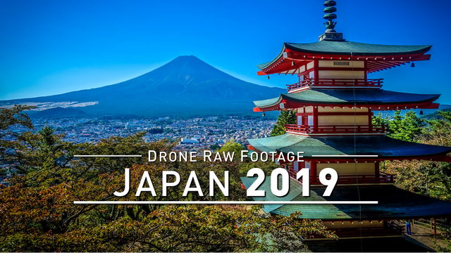【4K】Drone RAW Footage | JAPAN 2019 ..:: Kyoto :: Matsushima :: Mount Zao :: Yamadera | UltraHD Video