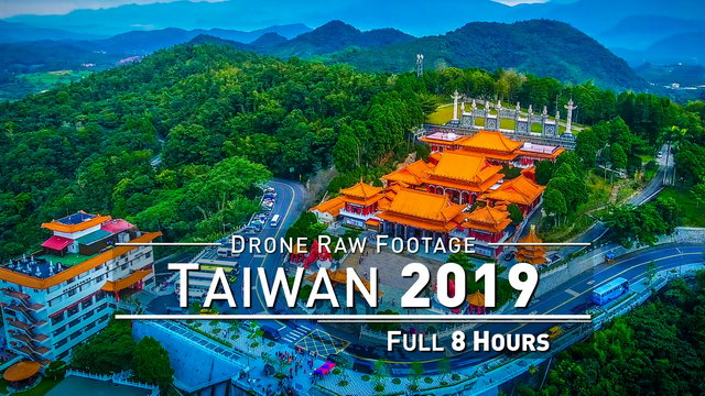 【4K】Drone RAW Footage | TAIWAN 2019 ..:: Taroko Gorge :: Sun Moon Lake :: Keelung | UltraHD Video