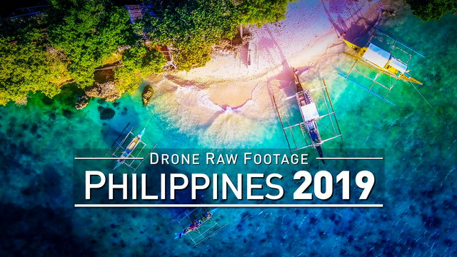 【4K】Drone RAW Footage | PHILIPPINES 2019 ..:: Boracay :: Cebu City :: Kalibo | UltraHD Stock Video