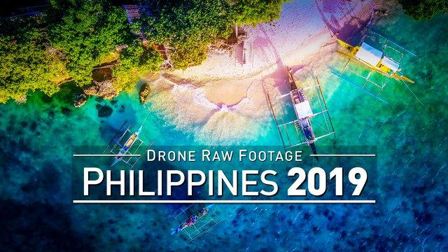 【4K】Drone RAW Footage | PHILIPPINES 2019 ..:: Boracay :: Cebu City :: Kalibo | UltraHD Stock Video