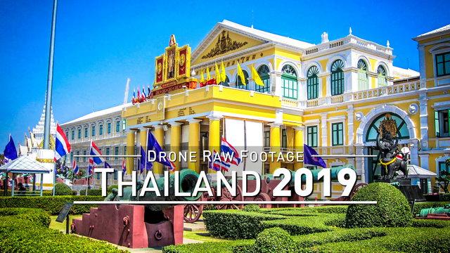 【4K】Drone RAW Footage | THAILAND 2019 ..:: Bangkok :: Koh Samui :: Koh Phangan Tao | UltraHD Video