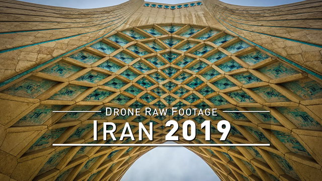 【4K】Drone RAW Footage | IRAN 2019 ..:: Tehran :: Tochal | UltraHD Stock Video
