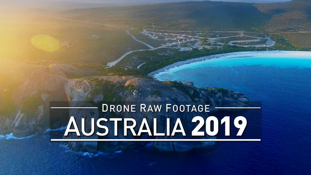 【4K】Drone RAW Footage | AUSTRALIA 2019 ..:: Perth :: Cape le Grand :: Esperance WA | UltraHD Video
