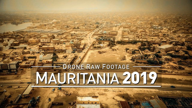 【4K】Drone RAW Footage | MAURITANIA 2019 ..:: Nouakchott | UltraHD Stock Video