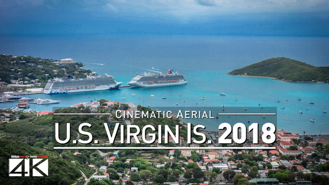 4K Drone Footage AMERICAN VIRGIN ISLANDS (U.S.V.I.) [DJI Phantom 4]