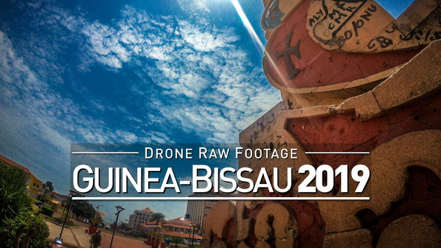 【4K】Drone RAW Footage | GUINEA-BISSAU 2019 ..:: Bissau | UltraHD Stock Video