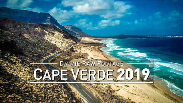 【4K】Drone RAW Footage | CAPE VERDE 2019 ..:: Mindelo :: Sao Vicente | UltraHD Stock Video