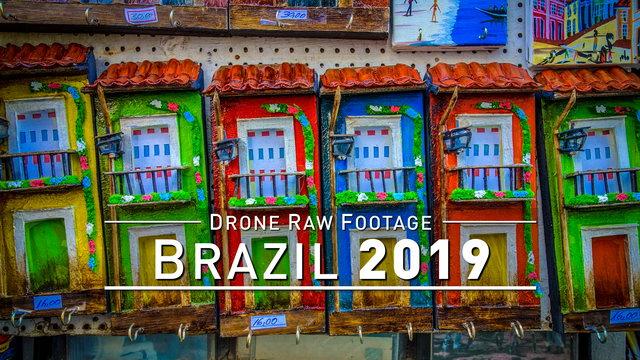 【4K】Drone RAW Footage   BRAZIL 2019 ..:: Recife :: Salvador :: Fortaleza :: Belo H.   UltraHD Video