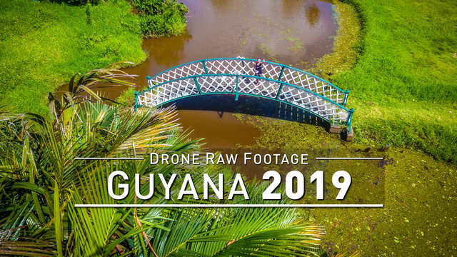 【4K】Drone RAW Footage | GUYANA 2019 ..:: Georgetown | UltraHD Stock Video