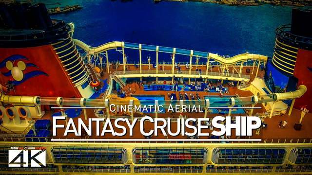 4K Drone Footage Disney Fantasy Cruise [DJI Phantom 4]
