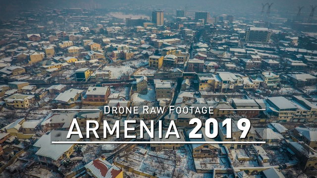 【4K】Drone RAW Footage | ARMENIA 2019 ..:: Yerevan | UltraHD Stock Video
