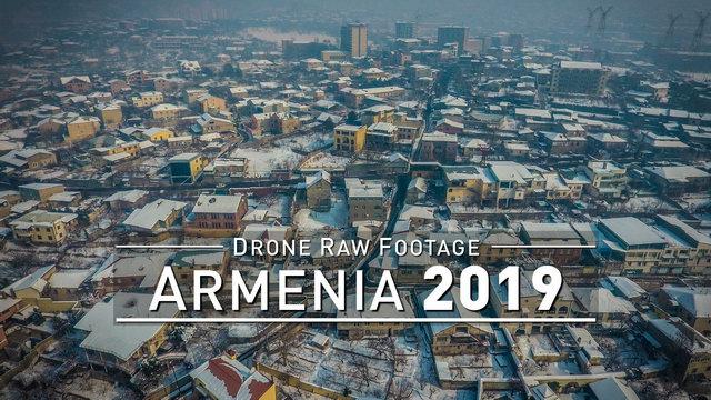 【4K】Drone RAW Footage | ARMENIA 2019 ..:: Yerevan | UltraHD Stock Video