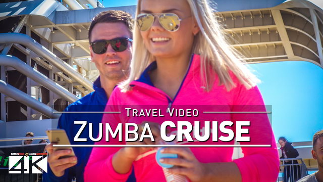 Zumba on the Fjord Line Cruise: Bergen to Stavanger [Slow Motion @1080p]