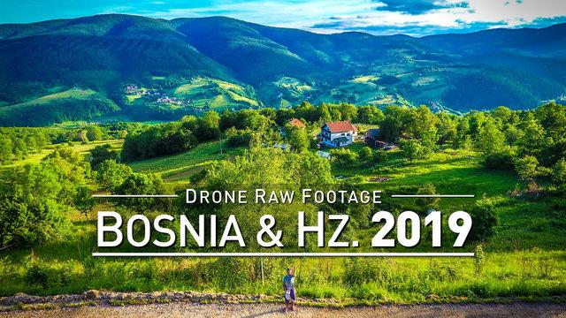 【4K】Drone RAW Footage | BOSNIA AND HERZEGOVINA 2019 ..:: Sarajevo :: Zenica | UltraHD Stock Video