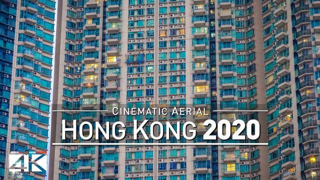 4K Drone Footage HONG KONG [DJI Phantom 4]