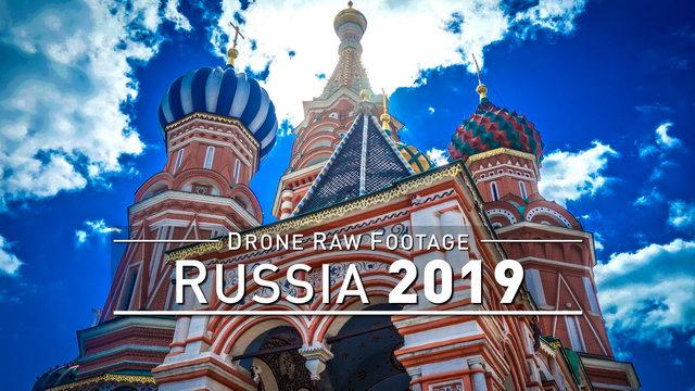 【4K】Drone RAW Footage | RUSSIA 2019 ..:: Novosibirsk :: Yekaterinburg :: Siberia | UltraHD Video