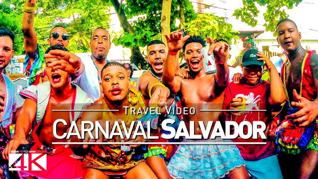 【4K】Footage | FURDUNCO Salvador da Bahia 2019 ..:: Pré-Carnaval Brasil 2019 | Barra Carnival Brazil