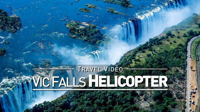 【1080p】Footage | Helicopter Flight at VICTORIA FALLS 2019 ..:: Full Trip | 13 Minutes *TRAVEL VIDEO*