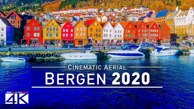 【4K】Drone Footage | Gorgeous BERGEN 2019 ..:: Norways Delight in the Southwest | Mountains | Fjords