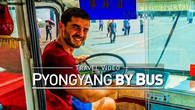 【1080p】Footage | Full 27 Minutes BUS TOUR in PYONGYANG (DPRK) 2019 ..:: North Korea *TRAVEL VIDEO*