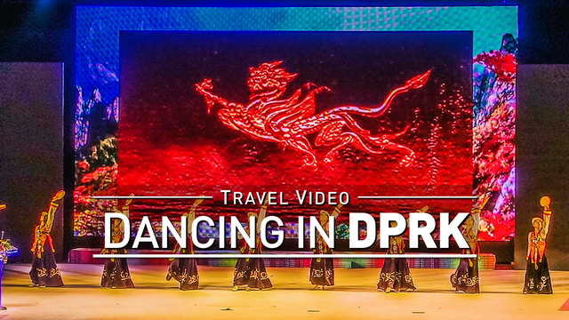 【1080p】Footage | Dance Performance PYONGYANG (DPRK) 2019 ..:: Live Show @North Korea *TRAVEL VIDEO*