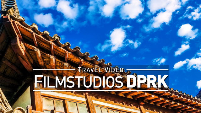 【1080p】Footage | HOLLYWOOD in NORTH KOREA (DPRK) 2019 ..:: Pyongyang Film Studios Set *TRAVEL VIDEO*