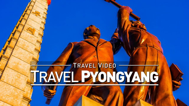 【1080p】Footage | PYONGYANG and NORTH KOREA in 8 Minutes ..: One week in the DPRK 2019 *TRAVEL VIDEO*
