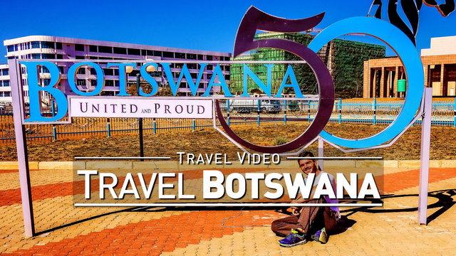 【1080p】Footage | BOTSWANA 2019 ..:: Gaborone | Three Dikgosi Monument | Parliament Building *TRAVEL*