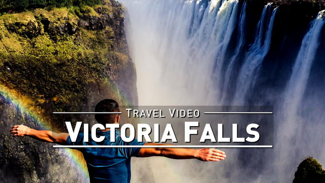 【1080p】Footage | VICTORIA FALLS 2019 ..:: Biggest Waterfall on Earth @Zambia Zimbabwe *TRAVEL VIDEO*
