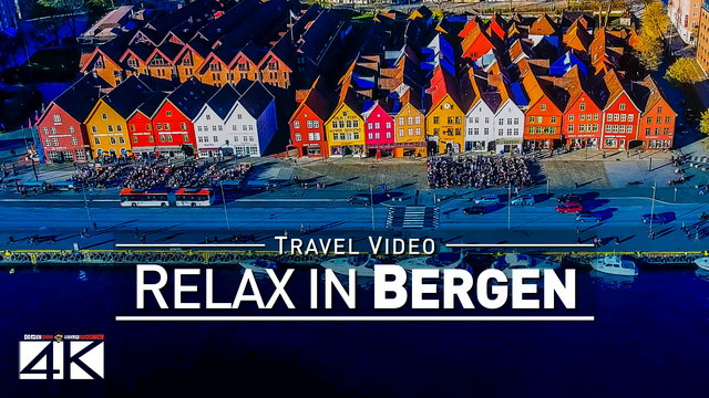【4K】Drone Footage | The Beauty of BERGEN in 27 Minutes 2019 | Cinematic Aerial Film | Norway