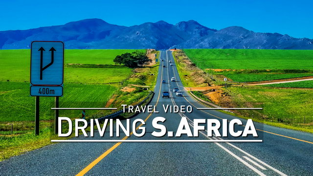 【4K】Footage | Road Trip Through SOUTH AFRICA 2019 ..:: Garden Route | Cape of Good Hope | Kruger NP