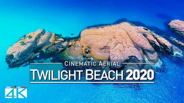 【4K】Drone Footage | Picture Perfect TWILIGHT DINOSAUR BEACH ..:: Esperance | Western Australia