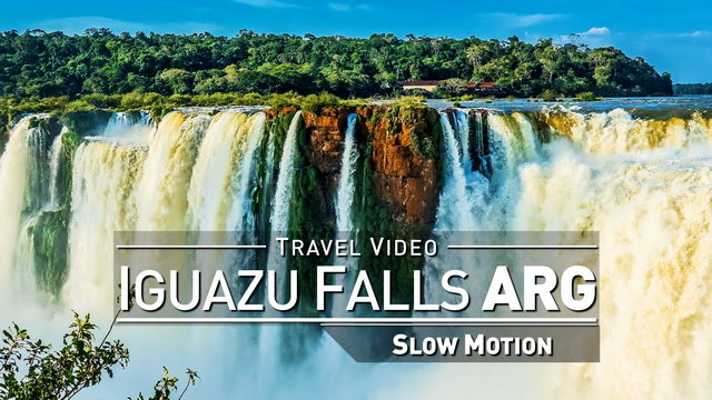 【1080p】Footage | Iguazu Falls 2019 ULTRA SLOW MOTION - 240fps ..:: Argentinian Side | Devils Throat
