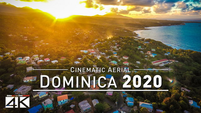 4K Drone Footage DOMINICA [DJI Phantom 4]