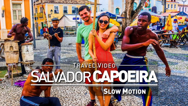 【1080p】Footage | Brazilian Capoeira 2019 ULTRA SLOW MOTION - 240fps ..:: Salvador da Bahia | Brasil