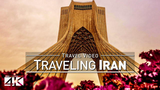 【4K】Footage | Traveling IRAN ..: One week in Tehran & Tochal | Islamic Republic TRAVEL + DRONE Video