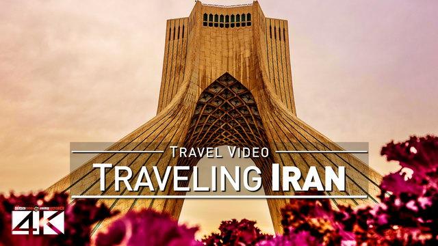 【4K】Footage | Traveling IRAN ..: One week in Tehran & Tochal | Islamic Republic TRAVEL + DRONE Video