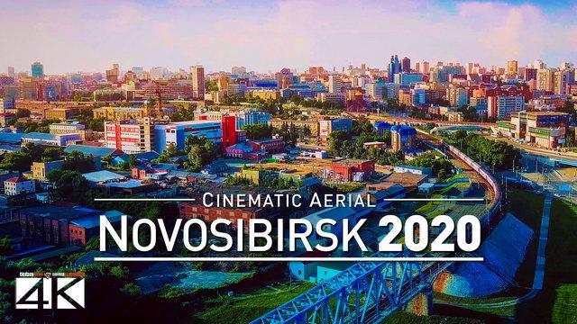 【4K】Drone Footage | Novosibirsk - RUSSIA 2019 ..:: Siberias Marvellous Metropolis | Новосиби́рск