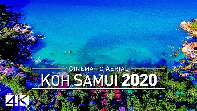 【4K】Drone Footage | Koh Samui - THAILAND 2019 ..:: Paradise Island เกาะสมุย | Aerial Video