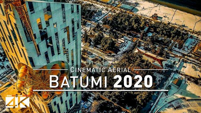 【4K】Drone Footage | Batumi - GEORGIA 2019 ..:: Caucasus Birds View | Aerial Film ბათუმი