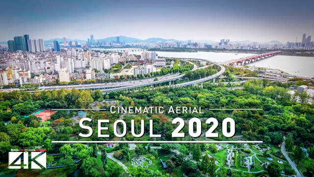 【4K】Drone Footage | Seoul - Capital of SOUTH KOREA 2019 ..:: Birds View | Aerial Film 서울